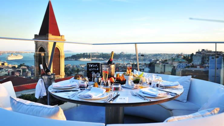 Best Roof Top Bars In Istanbul